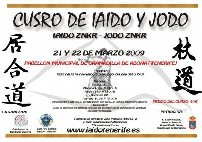 Curso Iaido/Jodo en Tenerife