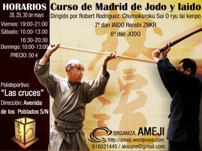 Curso Iaido Madrid
